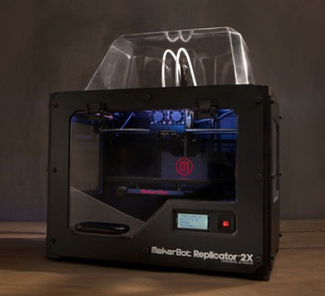 MakterBot Replicator 2x Experimental 3D Printer