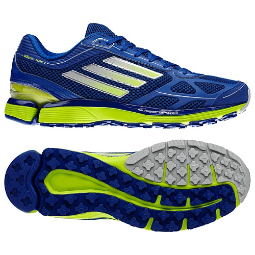 Adidas adiZero Sonic 3 Shoes Blue/Green